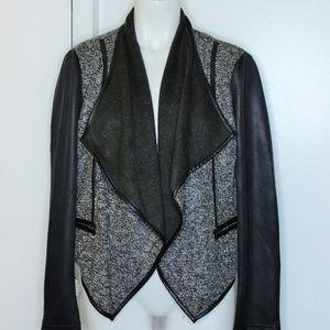 Kut from the Kloth Tweed Sweater Cardigan M